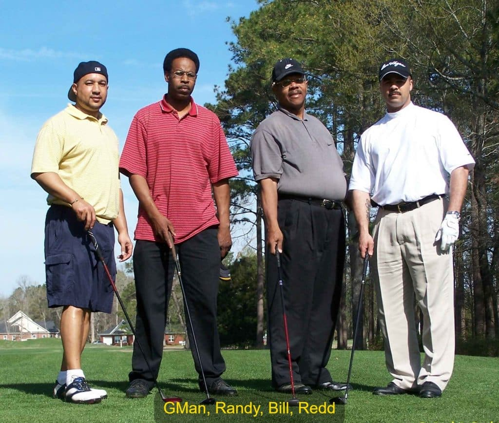 GMan, Randy, Bill, Redd