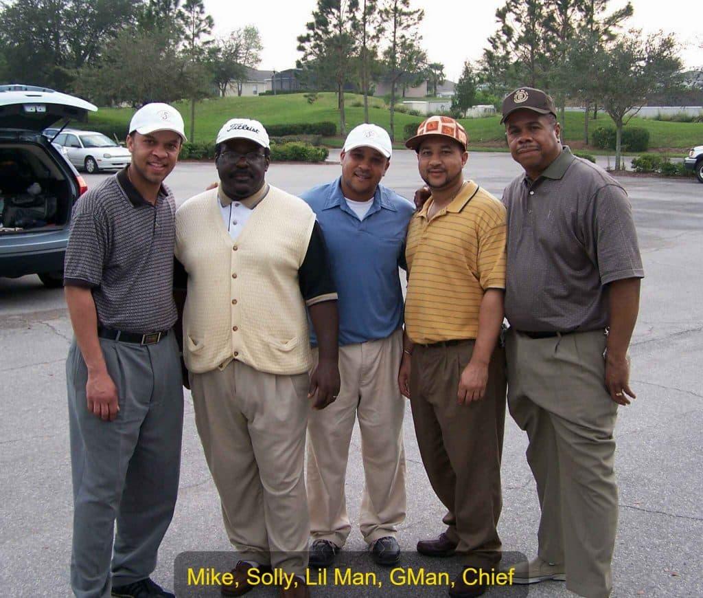 MIke, Solly, Wayne, Germano, Elmer